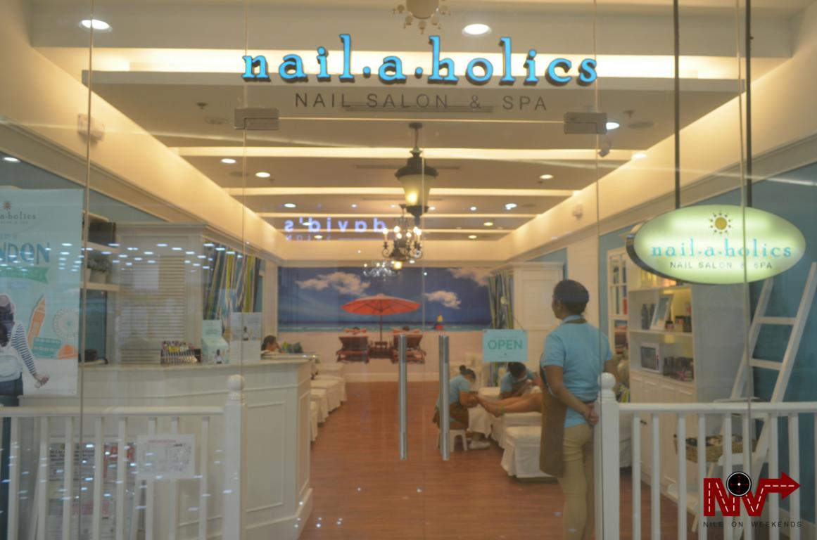 Foot Spa at Nailaholics Nail Salon and Spa SM City Iloilo