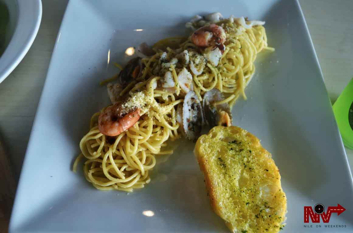 Bluejay Coffee and Co Pasta Seafood Aldino