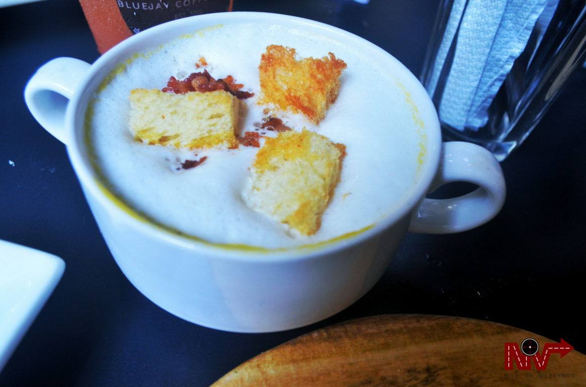 Bluejay Coffee and Co Roasted Pumpkin Soup