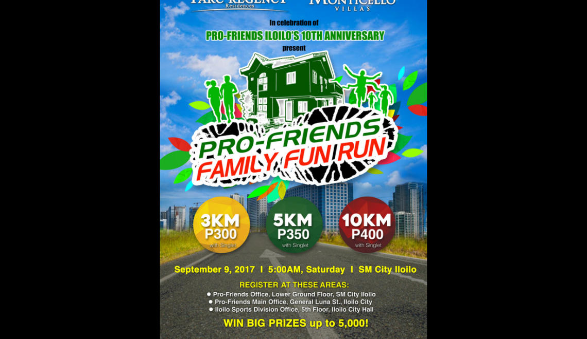 Pro-Friends Family Fun Run