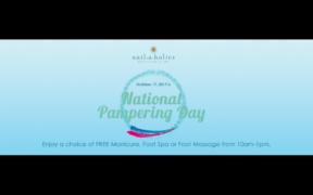 Nailaholics National Pampering Day