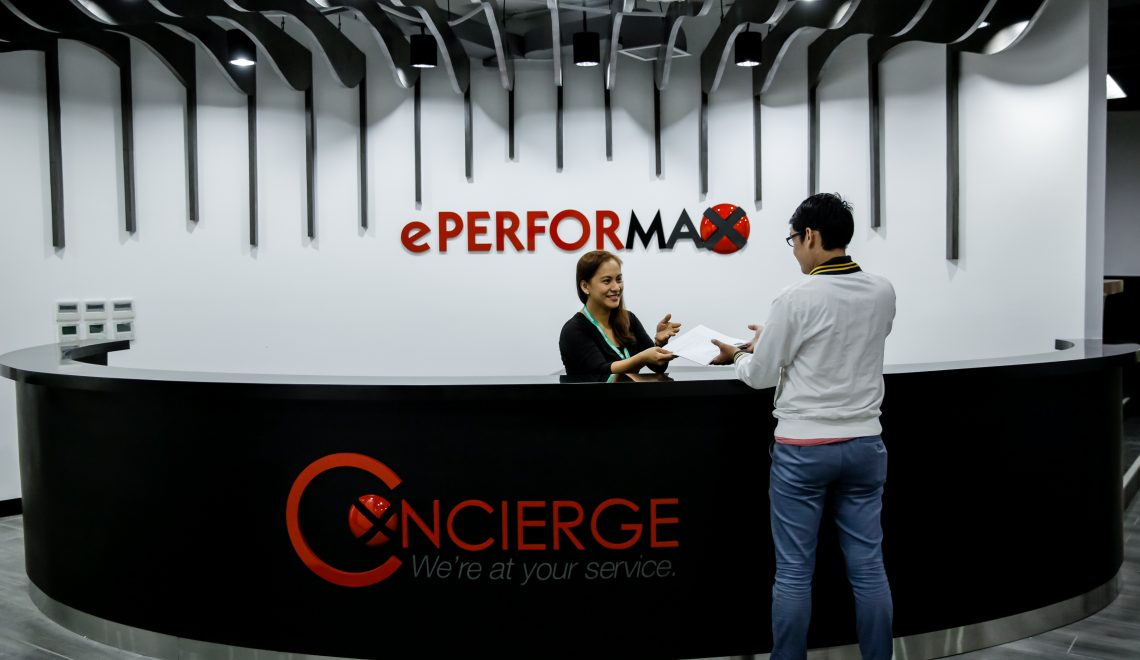 ePerformax Concierge at The Hub