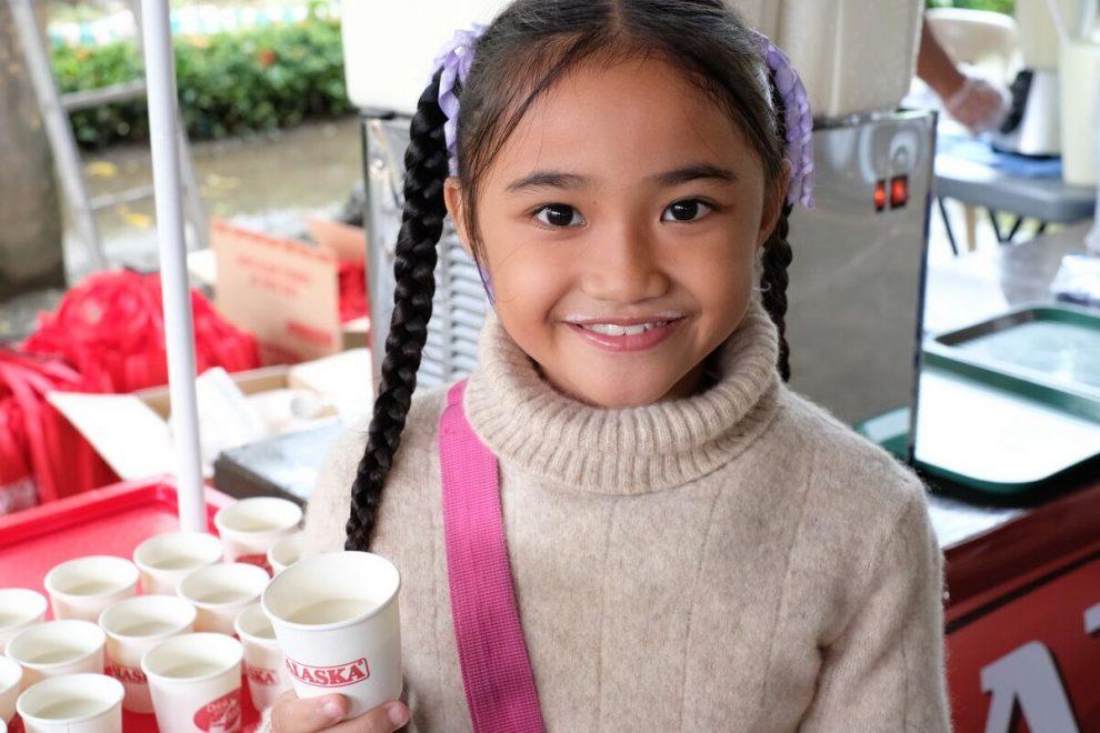 Antique Batang Alaska School Milk Program