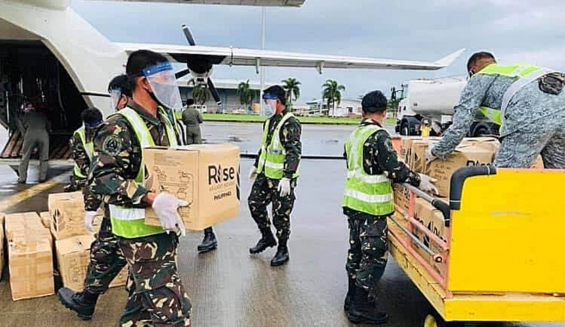RISE ACEPH AC Energy Philippines Relief Packs Iloilo City Feature